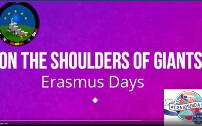 Celebramos los Erasmus Days