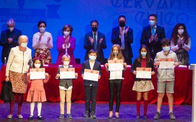 Entrega de los premios Cervantes Chico a nuestros-as alumnos-as